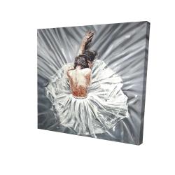 Canvas 24 x 24 - 3D - Ballerina