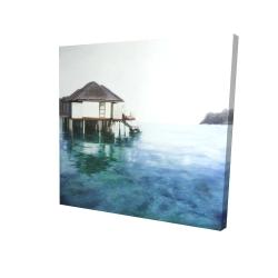 Canvas 24 x 24 - 3D - Dream travel