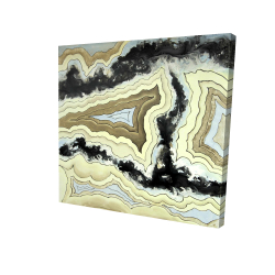 Canvas 24 x 24 - 3D - Lace agate