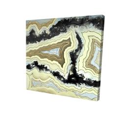 Canvas 24 x 24 - 3D - Lace agate