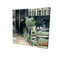 Canvas 24 x 24 - 3D - Plants shop