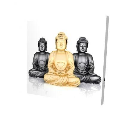 Trio de bouddhas
