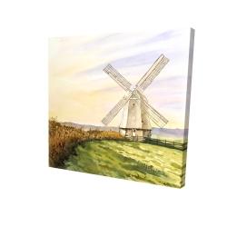 Canvas 24 x 24 - 3D - Morning breeze