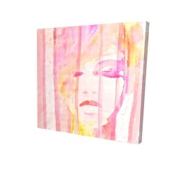 Abstract portrait feminine