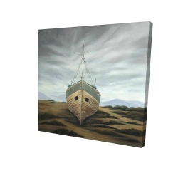 Canvas 24 x 24 - 3D - Boat