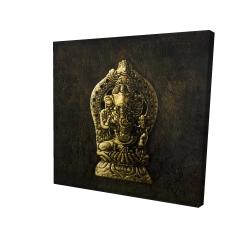 Canvas 24 x 24 - 3D - Lord ganesha