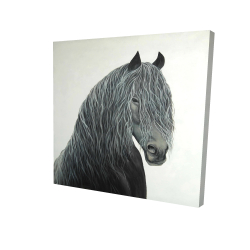 Canvas 24 x 24 - 3D - Wild heart