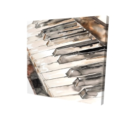 Canvas 24 x 24 - 3D - Piano