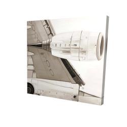 Toile 24 x 24 - 3D - Dessous d'avion