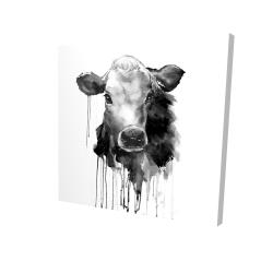 Canvas 24 x 24 - 3D - Jersey cow