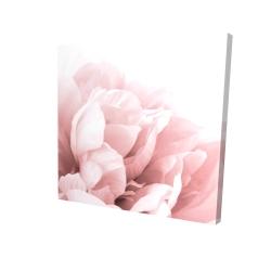 Canvas 24 x 24 - 3D - Peony flower dream
