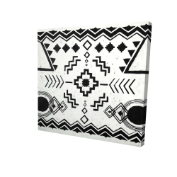 Canvas 36 x 36 - 3D - Ethnic patterns