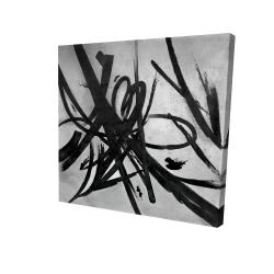 Canvas 24 x 24 - 3D - Circular strokes