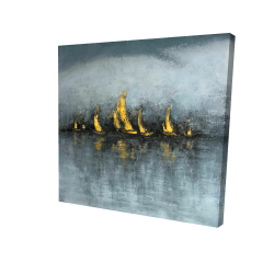 Canvas 24 x 24 - 3D - Set sail