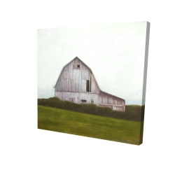 Canvas 24 x 24 - 3D - Rustic barn