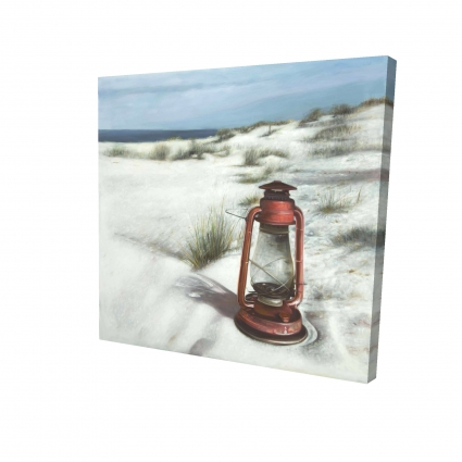 Lanterne sur la plage