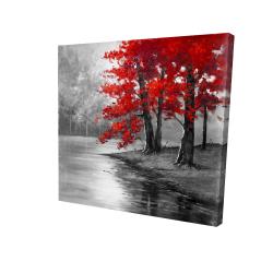 Canvas 24 x 24 - 3D - Peaceful view