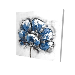Canvas 24 x 24 - 3D - Small flower