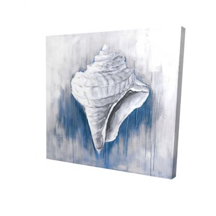 Blue conical shell
