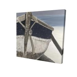 Canvas 24 x 24 - 3D - Bateau