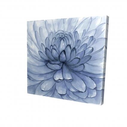 Fleur pétales bleus