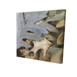 Canvas 24 x 24 - 3D - Autumn leaves