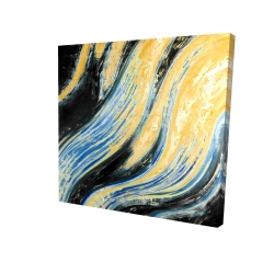 Canvas 24 x 24 - 3D - Wavy wave