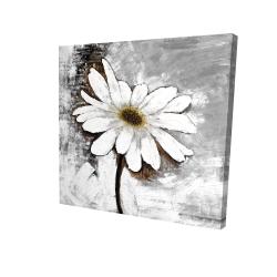 Canvas 24 x 24 - 3D - Abstract daisy