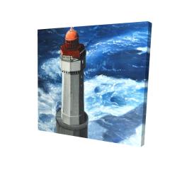 Canvas 24 x 24 - 3D - The headlight of jument