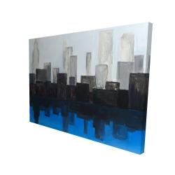 Canvas 36 x 48 - 3D - Blue city