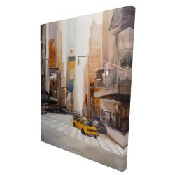 Canvas 36 x 48 - 3D - New-york city center