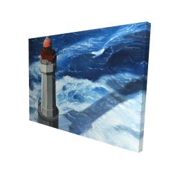 Canvas 36 x 48 - 3D - The headlight of jument