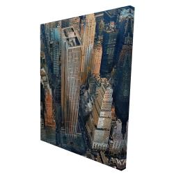 Canvas 36 x 48 - 3D - General motors building