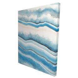 Canvas 36 x 48 - 3D - Textured geode