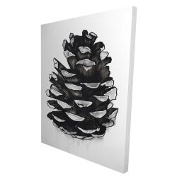 Canvas 36 x 48 - 3D - Pine cone