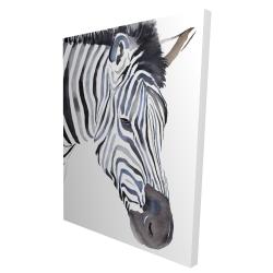 Canvas 36 x 48 - 3D - Zebra