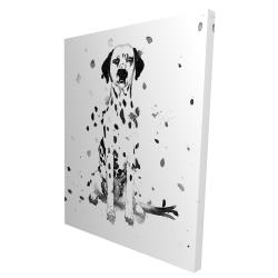 Canvas 36 x 48 - 3D - Dalmatian dog
