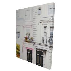 Canvas 36 x 48 - 3D - West coast houses