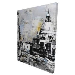 Canvas 36 x 48 - 3D - Basilica of santa maria della salute
