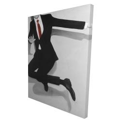 Canvas 36 x 48 - 3D - Classical jumping man