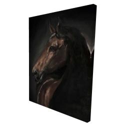 Canvas 36 x 48 - 3D - Spirit the horse