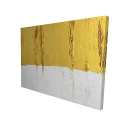 Canvas 36 x 48 - 3D - Golden stripe