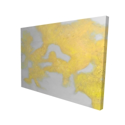 Canvas 36 x 48 - 3D - Gold stains