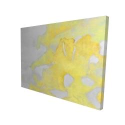 Toile 36 x 48 - 3D - érosion dorée