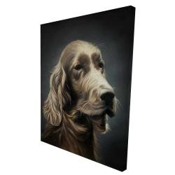 Canvas 36 x 48 - 3D - Field spaniel