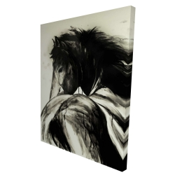 Canvas 36 x 48 - 3D - Classical horse