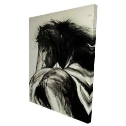 Canvas 36 x 48 - 3D - Classical horse