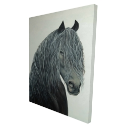 Canvas 36 x 48 - 3D - Wild heart