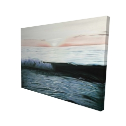 Canvas 36 x 48 - 3D - Desaturated sunset