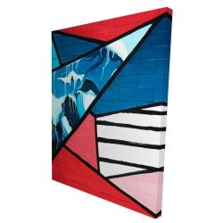 Canvas 36 x 48 - 3D - Diagonal unity